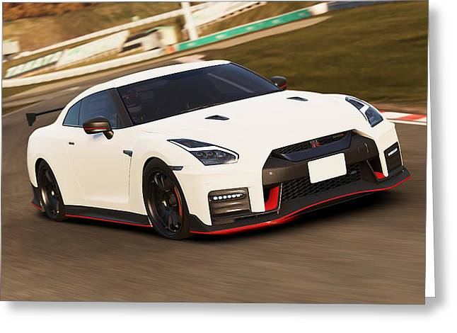 Nissan Gt-r Nismo - 02  Greeting Card