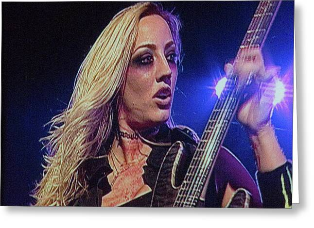 Nita Strauss Greeting Card