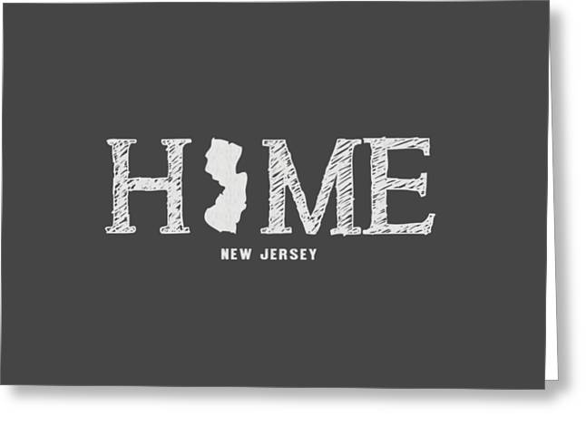 Nj Home Greeting Card
