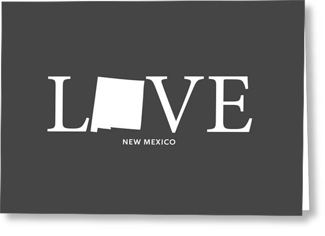 Nm Love Greeting Card by Nancy Ingersoll