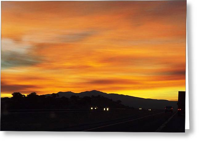 Nm Sunrise Greeting Card by Adam Cornelison