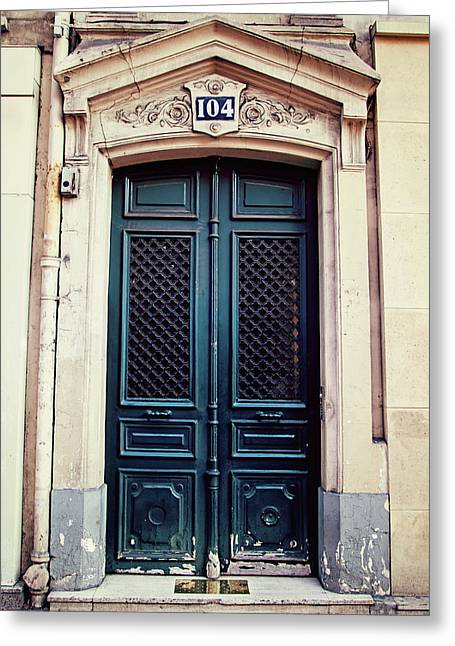 No. 104 - Paris Doors Greeting Card
