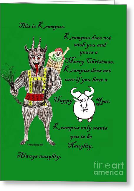 No Happy Gnu Year Greeting Card