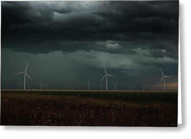 No Lack Of Energy Greeting Card by Brian Gustafson