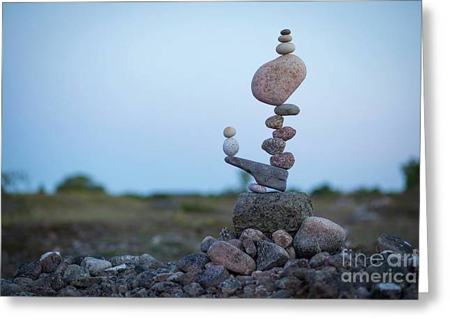 Zen Stack #2 Greeting Card