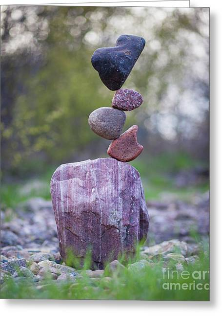 Zen Stack #4 Greeting Card