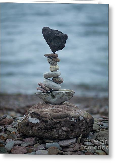 Zen Stack #6 Greeting Card