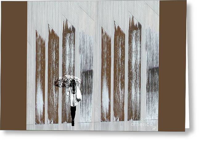 Greeting Card featuring the photograph No Rain Forest by LemonArt Photography
