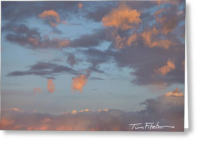 No Tears In Heaven Greeting Card by Tim Fitzharris