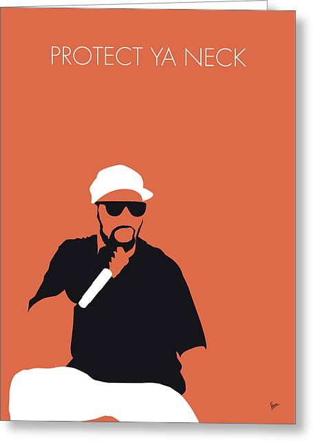 No073 My Wutangclan Minimal Music Poster Greeting Card