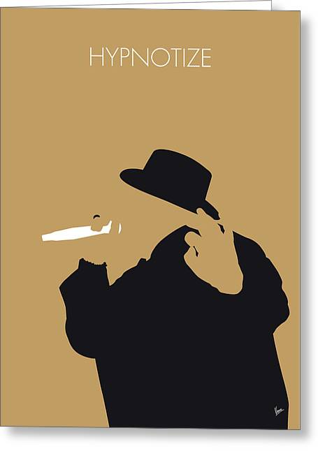 No080 My Notorious Big Minimal Music Poster Greeting Card