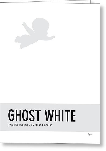 No09 My Minimal Color Code Poster Casper Greeting Card