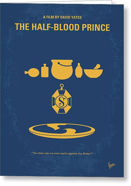 No101-6 My Hp - Half Blood Prince Movie Poster Greeting Card