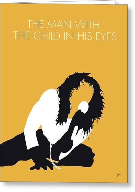 No104 My Kate Bush Minimal Music Poster Greeting Card