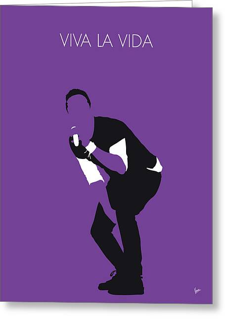 Coldplay greeting cards pixels no121 my coldplay minimal music poster greeting card m4hsunfo