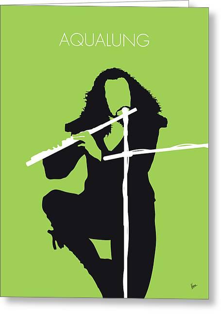 No146 My Ian Anderson Minimal Music Poster Greeting Card