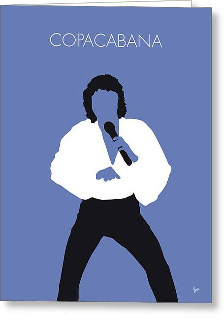 Barry manilow greeting cards fine art america no198 my barry manilow minimal music poster greeting card bookmarktalkfo Image collections