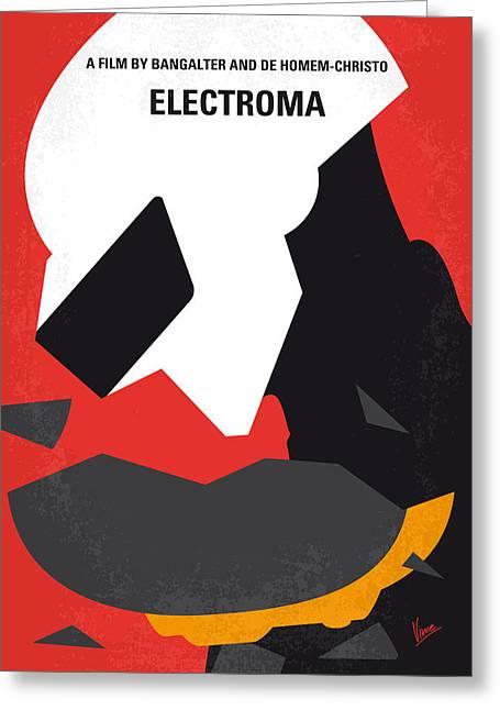 No556 My Electroma Minimal Movie Poster Greeting Card