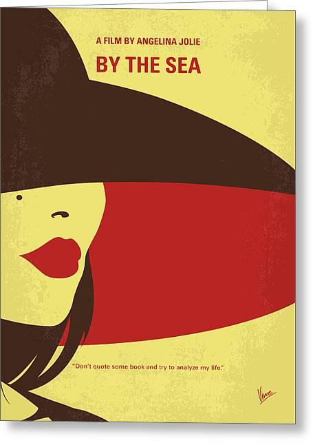 No805 My By The Sea Minimal Movie Poster Greeting Card by Chungkong Art