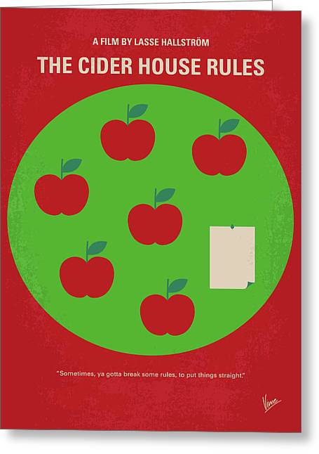 No807 My The Cider House Rules Minimal Movie Poster Greeting Card by Chungkong Art