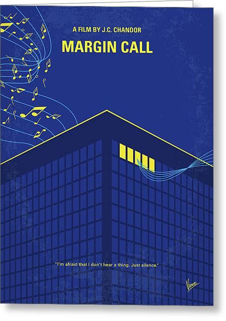 No950 My Margin Call Minimal Movie Poster Greeting Card