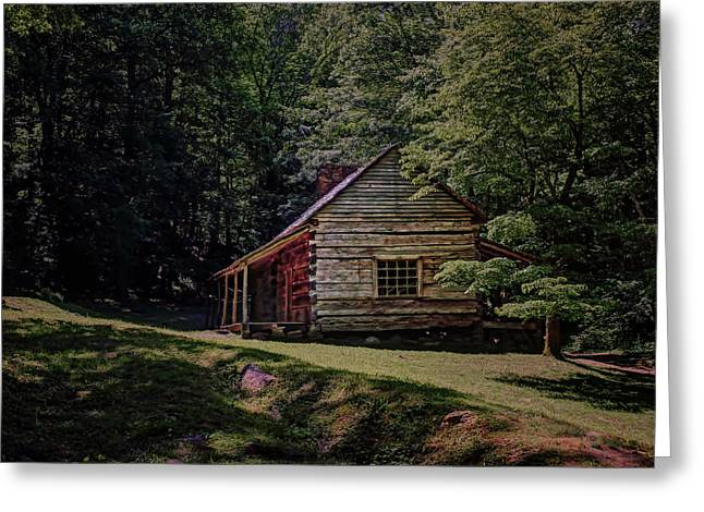 Noah Ogle - Cabin Greeting Card
