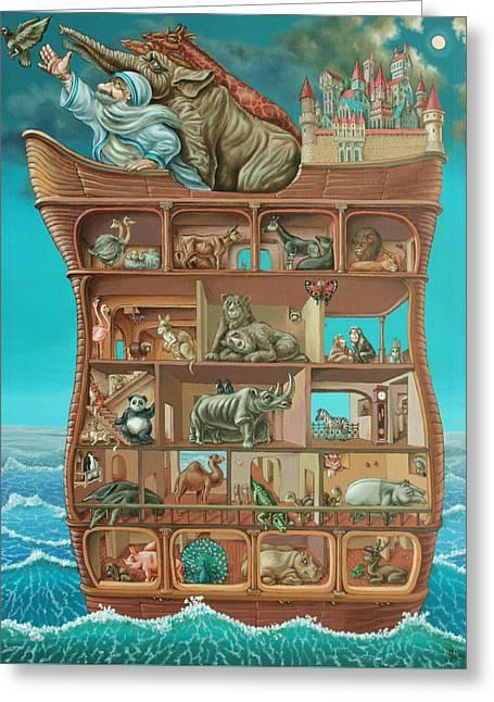 Noahs Arc Greeting Card