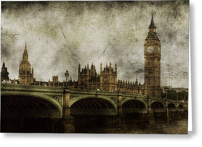 Thames River Greeting Cards - Noble Attributes Greeting Card by Andrew Paranavitana