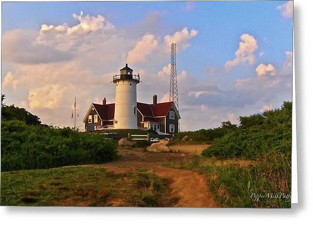 Nobska Lighthouse Greeting Card