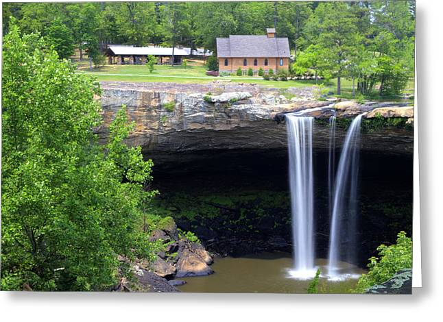 Noccolula Falls Gadsden Alabama Greeting Card