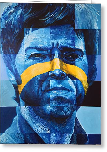 Noel Gallagher Greeting Card