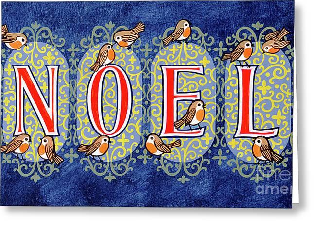 Noel Greeting Card by Stanley Cooke