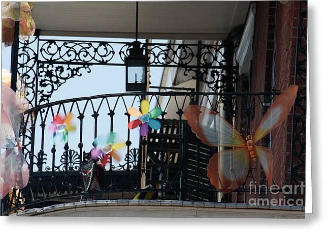 Nola French Quarter Greeting Card