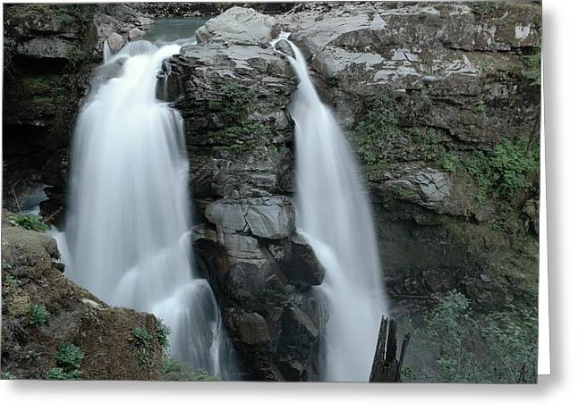Nooksack Falls Greeting Card