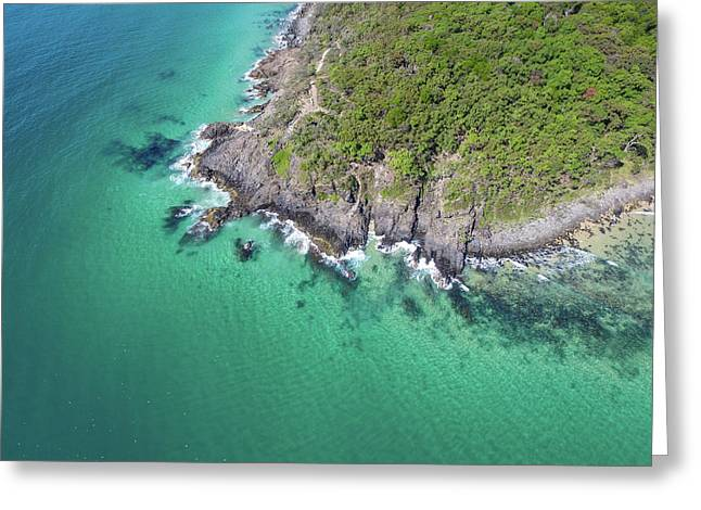 Greeting Card featuring the photograph Noosa National Park by Keiran Lusk
