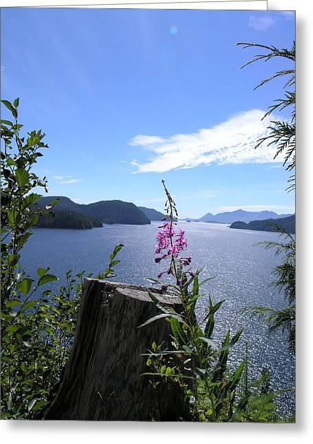 Flowers Of Nootka Sound Greeting Card