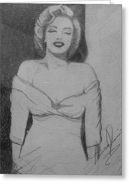 Norma Jean Greeting Card