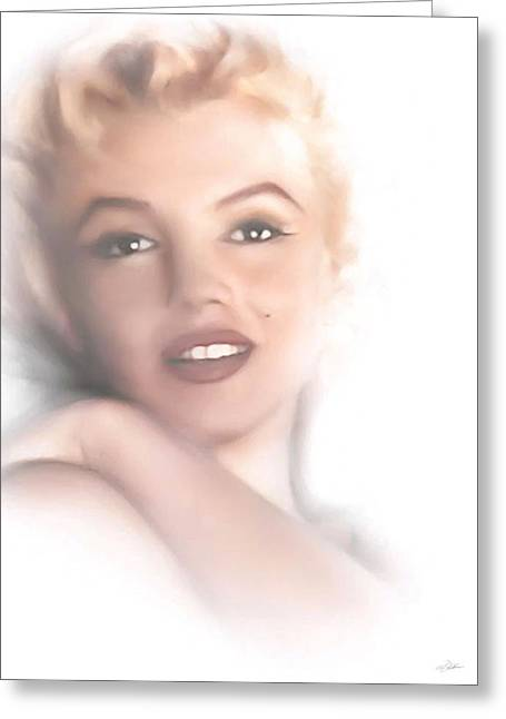 Norma Jeane Greeting Card by Peter Chilelli