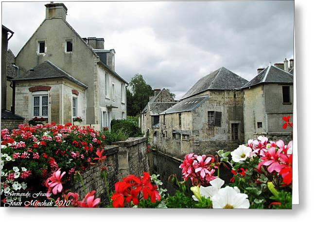 Minchak Greeting Cards - Normandy Arrival Greeting Card by Joan  Minchak