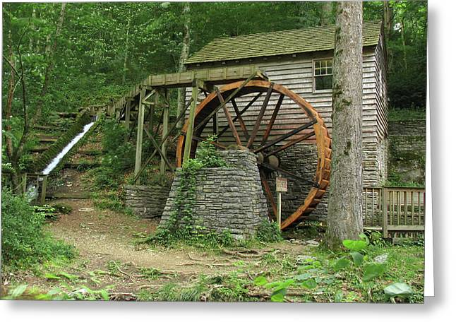 Rice Grist Mill II Greeting Card by Douglas Stucky