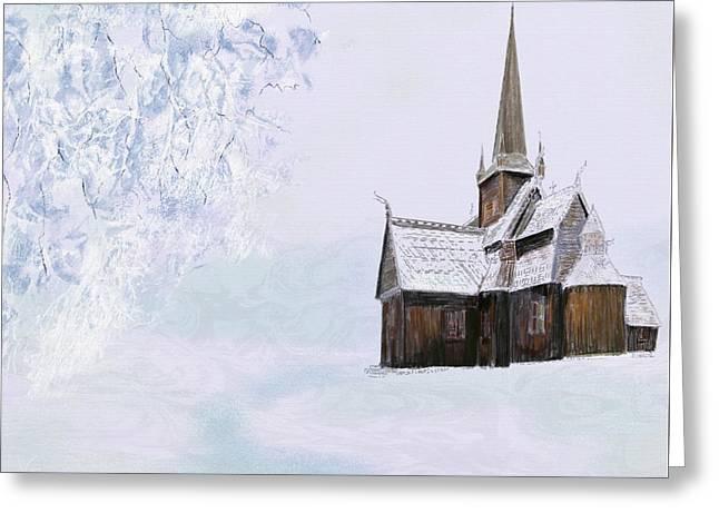 Norsk Kirke Greeting Card