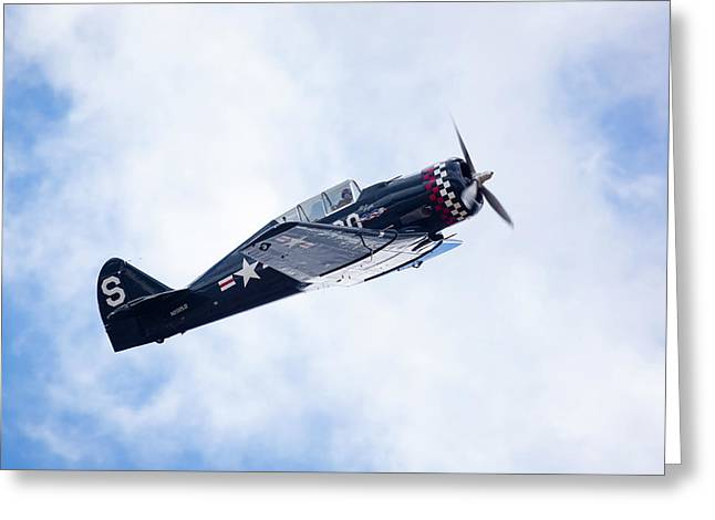 North American Na-50 Greeting Card by Brian Knott Photography