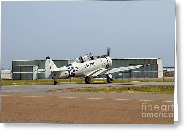 North American T6 Texan Military Aircraft 7d15784 Greeting Card