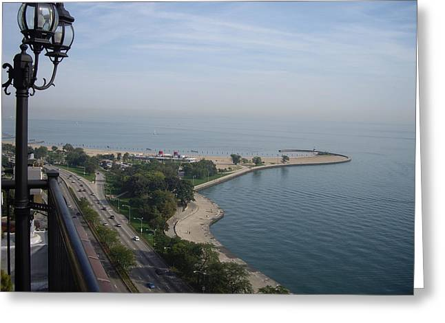 North Avenue Beach Greeting Card by Julie Ringer