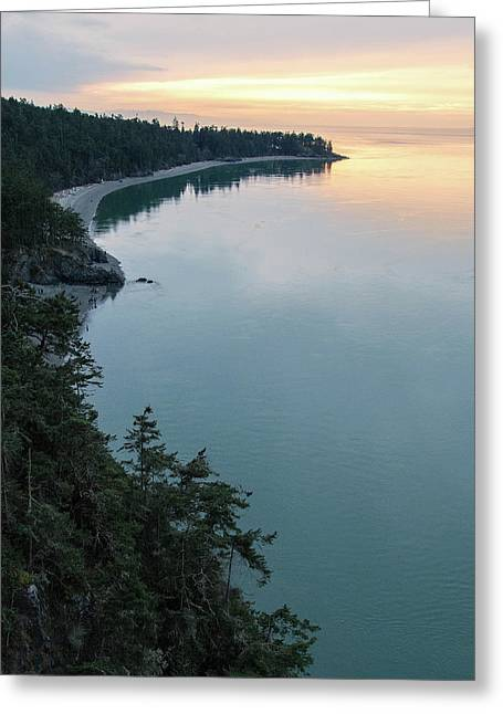 North Beach Of Whidbey Greeting Card by Ryan McGinnis