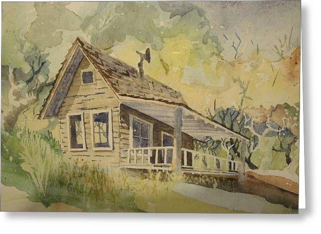 North Bloomfield Greeting Card by Steven Holder