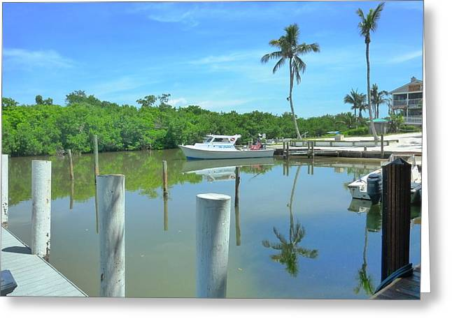 North Captiva Charm Greeting Card