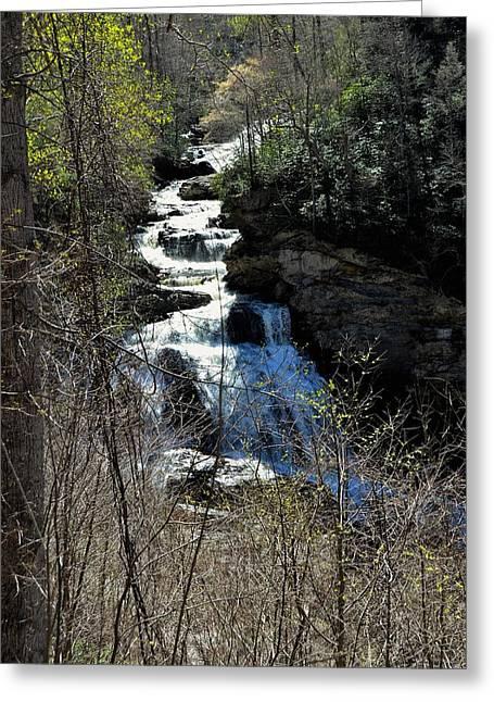 North Carolina Falls Greeting Card