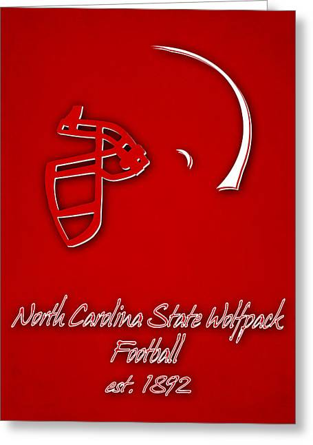 North Carolina State Wolfpack Greeting Card by Joe Hamilton