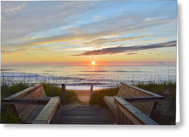 North Carolina Sunrise Greeting Card